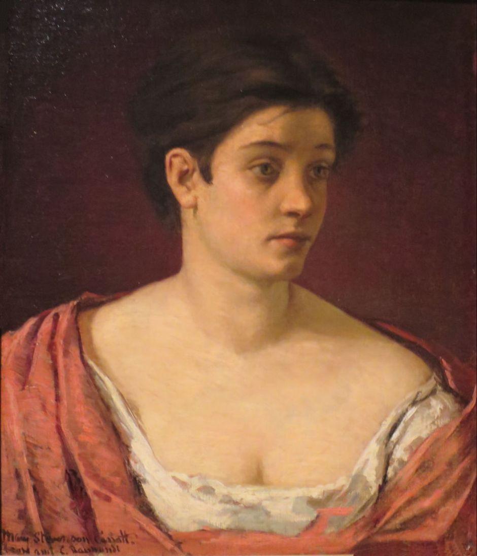 cassattportraitwoman