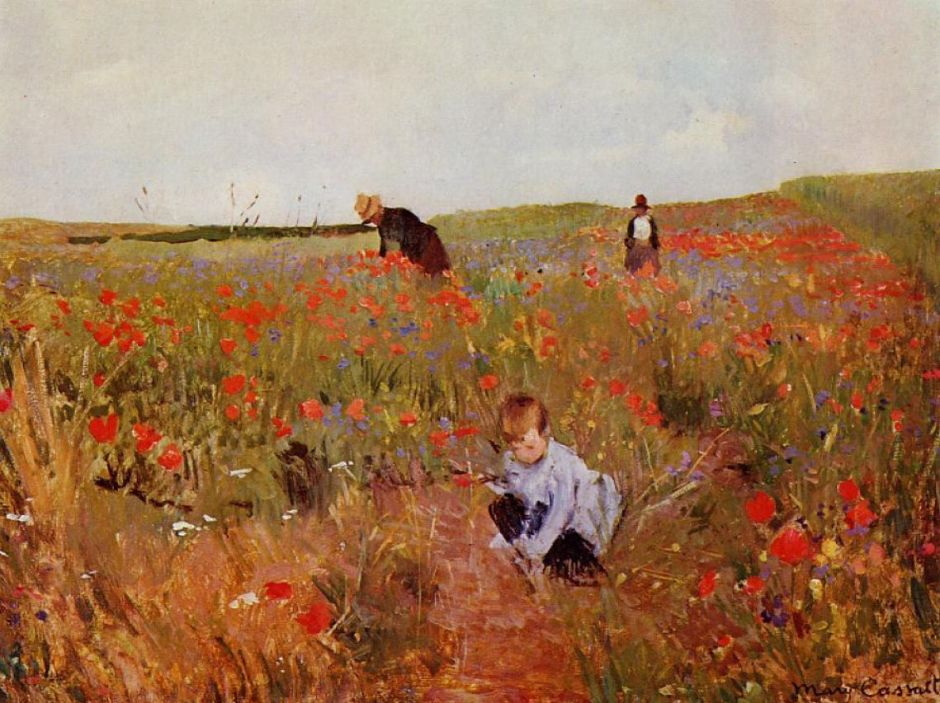 cassattredpoppies