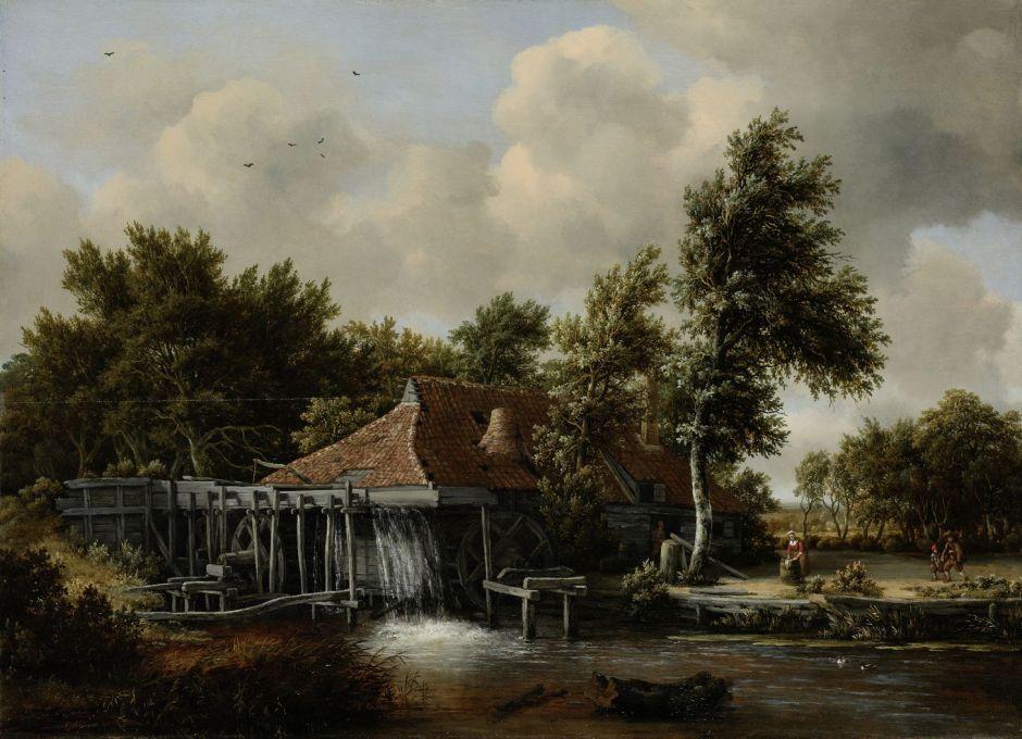 hobbemawatermill