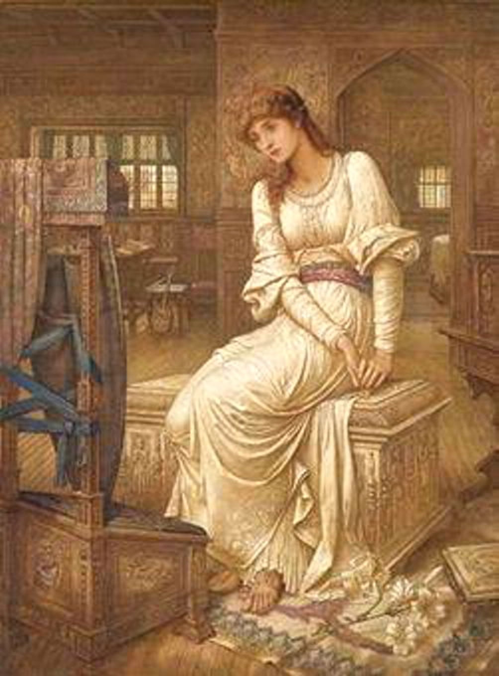 elaine of astolat Elaine the fair of astolat is a maiden who dies of grief when lancelot will not love  her the story appears in the vulgate mort artu and in malory, but it is the.