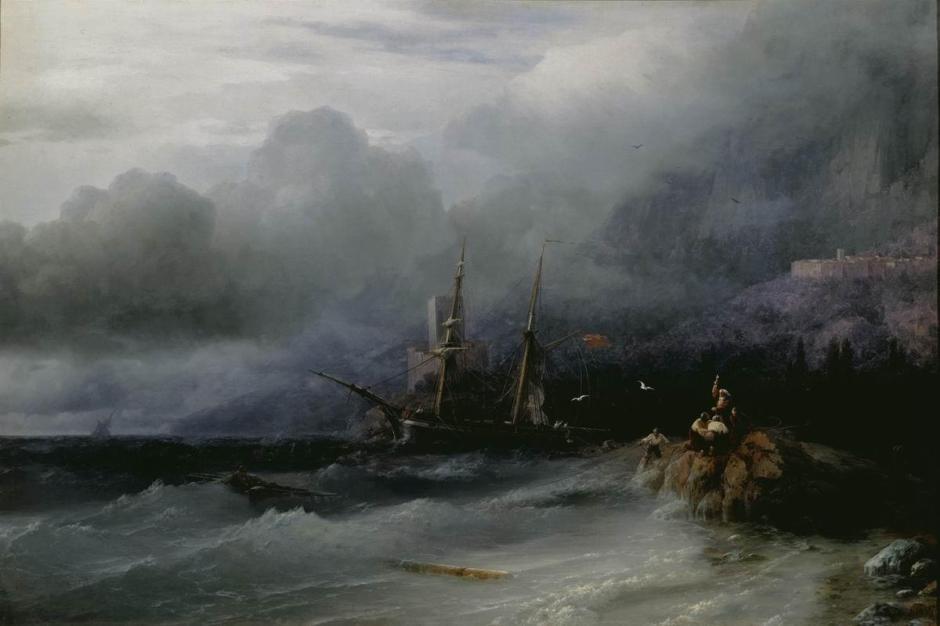 aivazovskytempest
