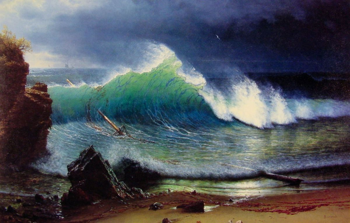 Painting Within Tent: Albert Bierstadt in the Rockies 2