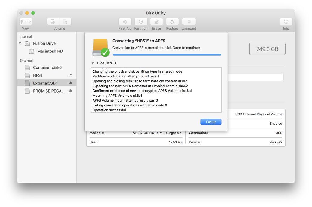 How To Format An External Hard Drive For Mac Os High Sierra