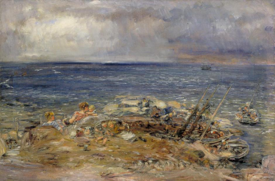 The Emigrants 1883-9 by William McTaggart 1835-1910