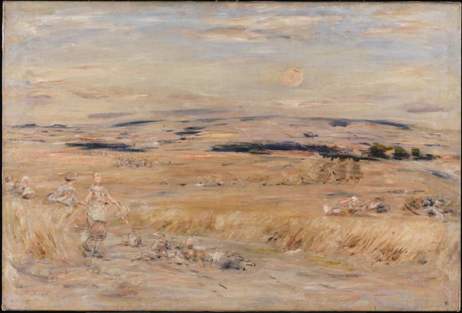 The Harvest Moon c.1899 by William McTaggart 1835-1910