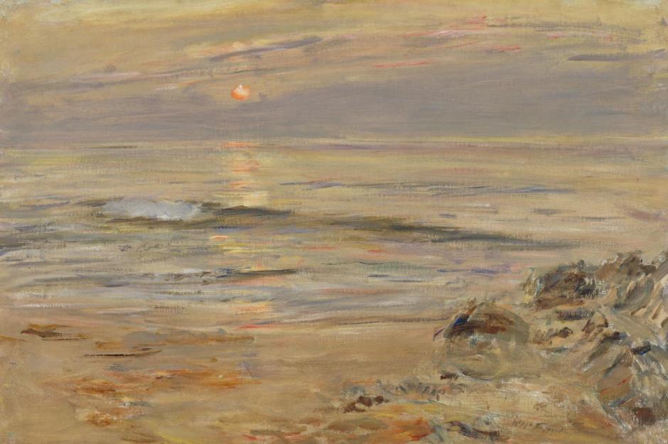 Summer Sundown - Tir-nan-og 1880 by William McTaggart 1835-1910