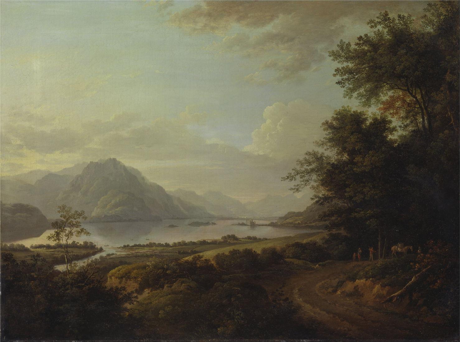 Oil Paintings Glens Of Scotland