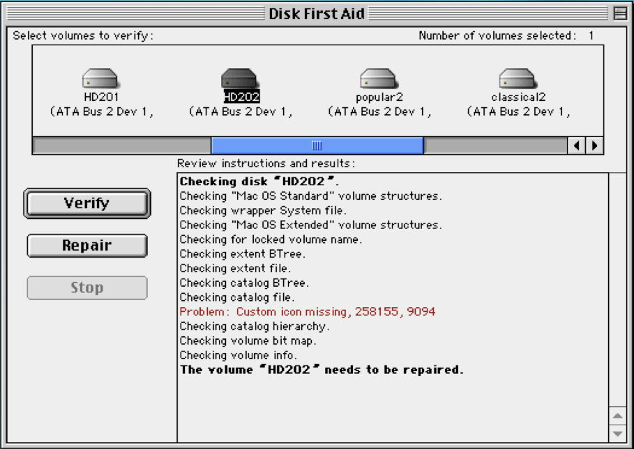 Disk Utility: An ever-changing tool
