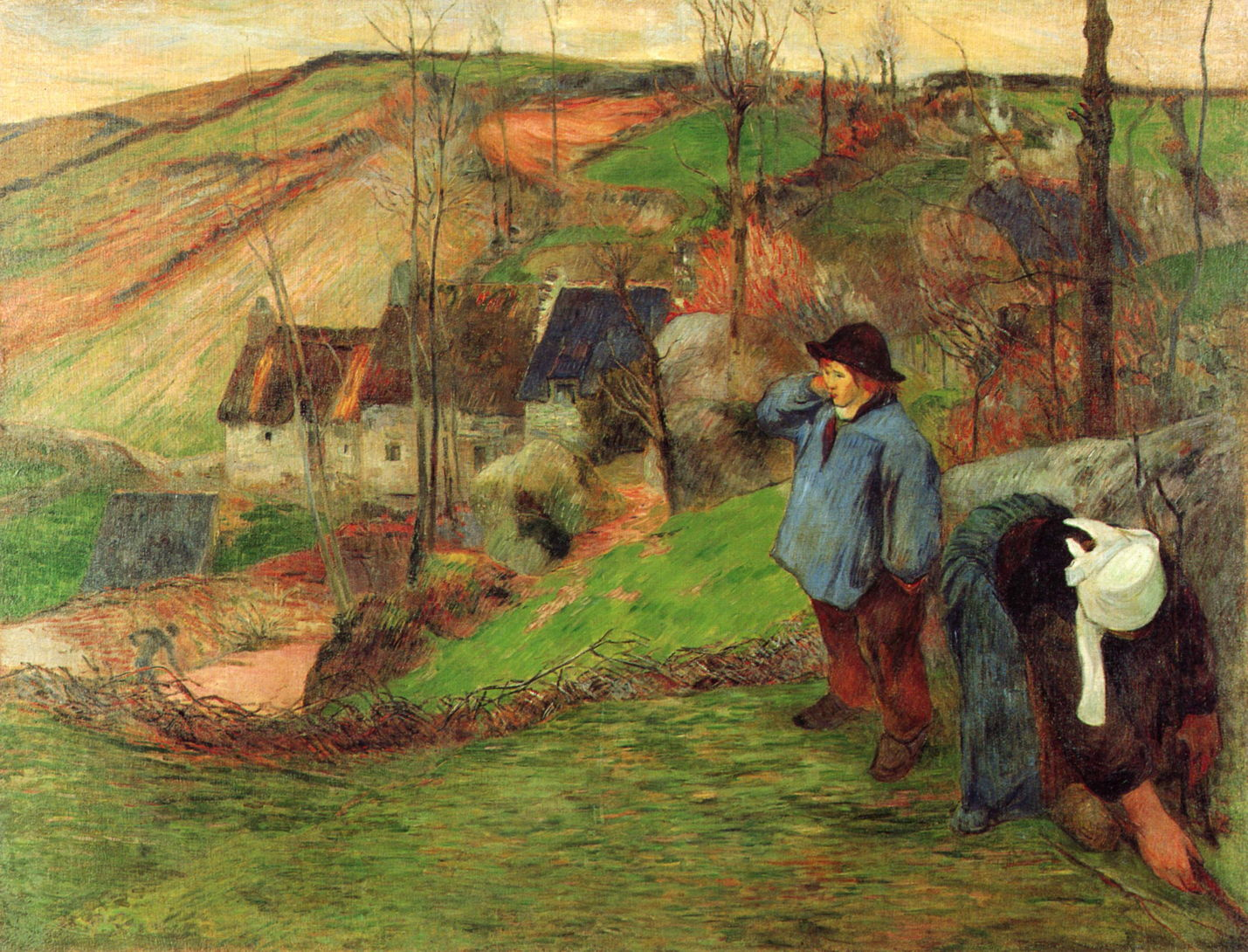 Gauguin's struggle with authenticity lands at Seattle Art ... |Gauguin Paintings