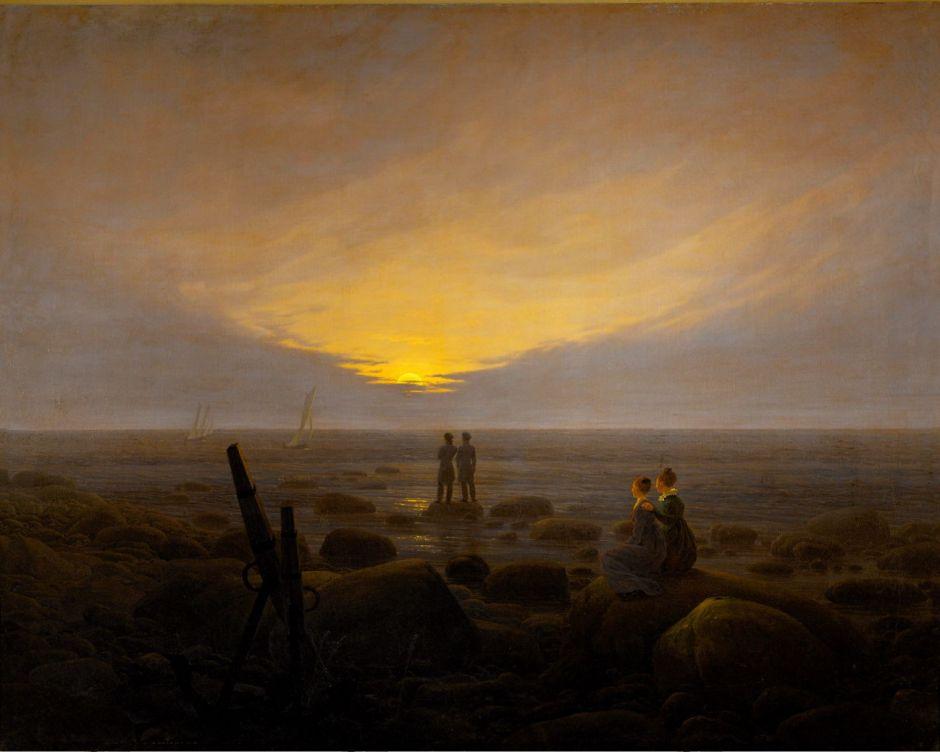 friedrichmoonrise1821