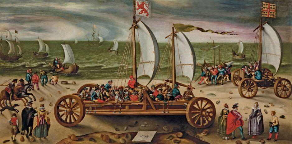 vandeveldesandyachtrace