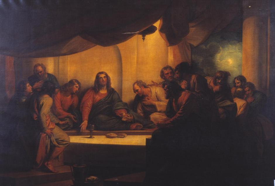 The Last Supper 1784 by Benjamin West 1738-1820