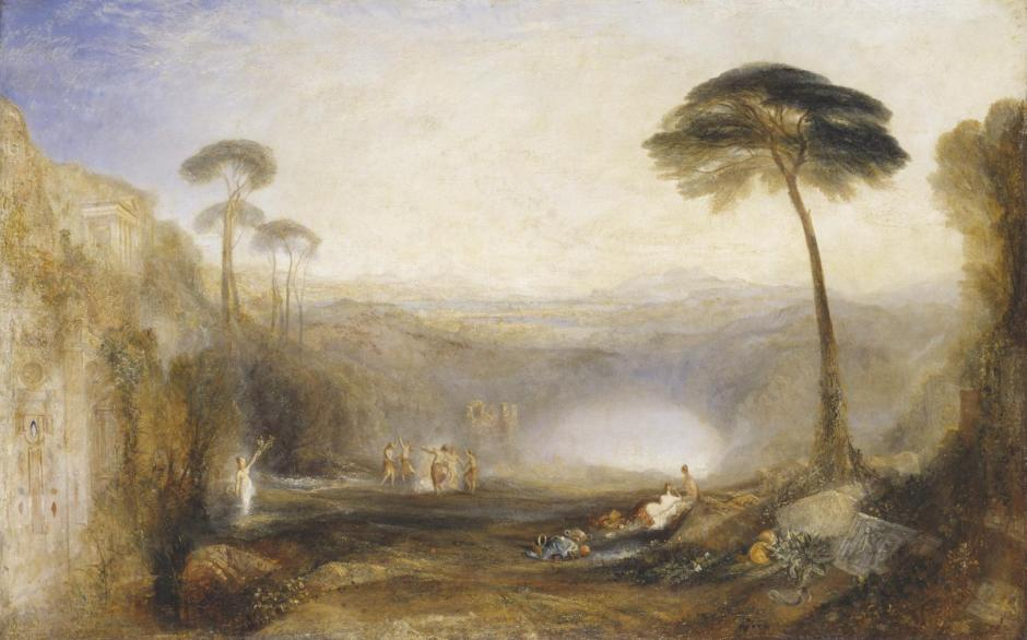 The Golden Bough exhibited 1834 by Joseph Mallord William Turner 1775-1851