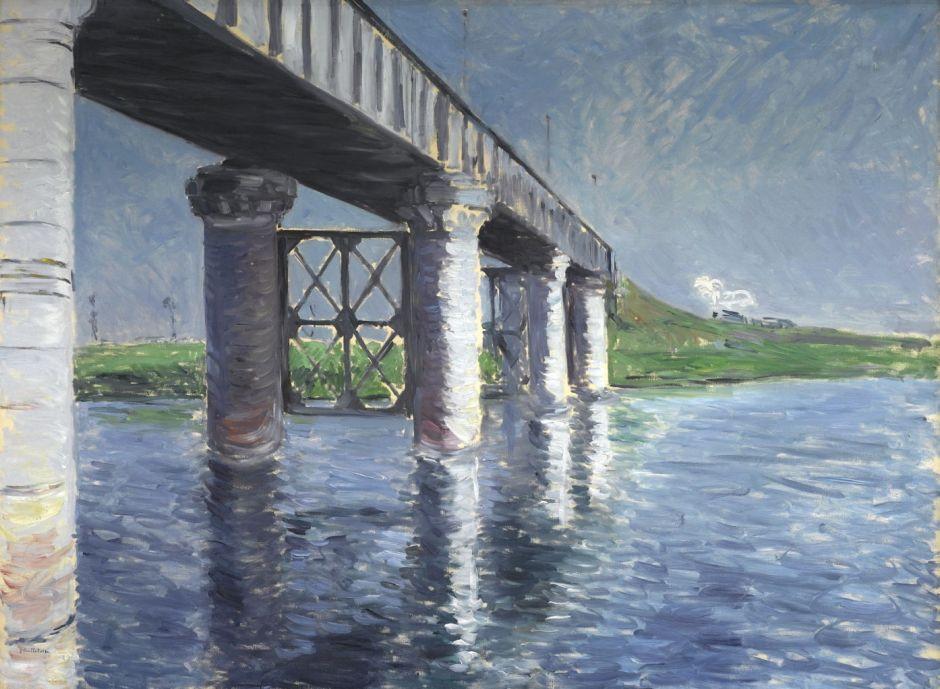 caillebotteseinerailwaybridgeargenteuil