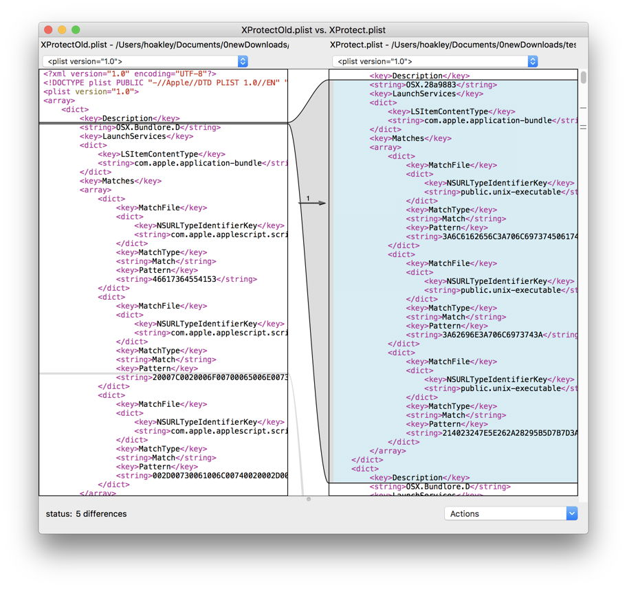 Comparing files: FileMerge, opendiff, and BBEdit – The