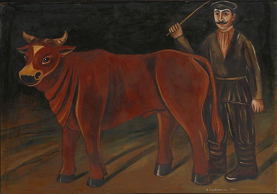 pirosmanifarmerbull