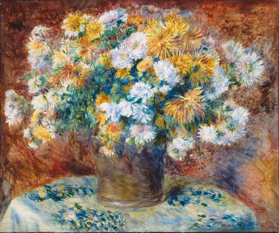 renoirchrysanthemums