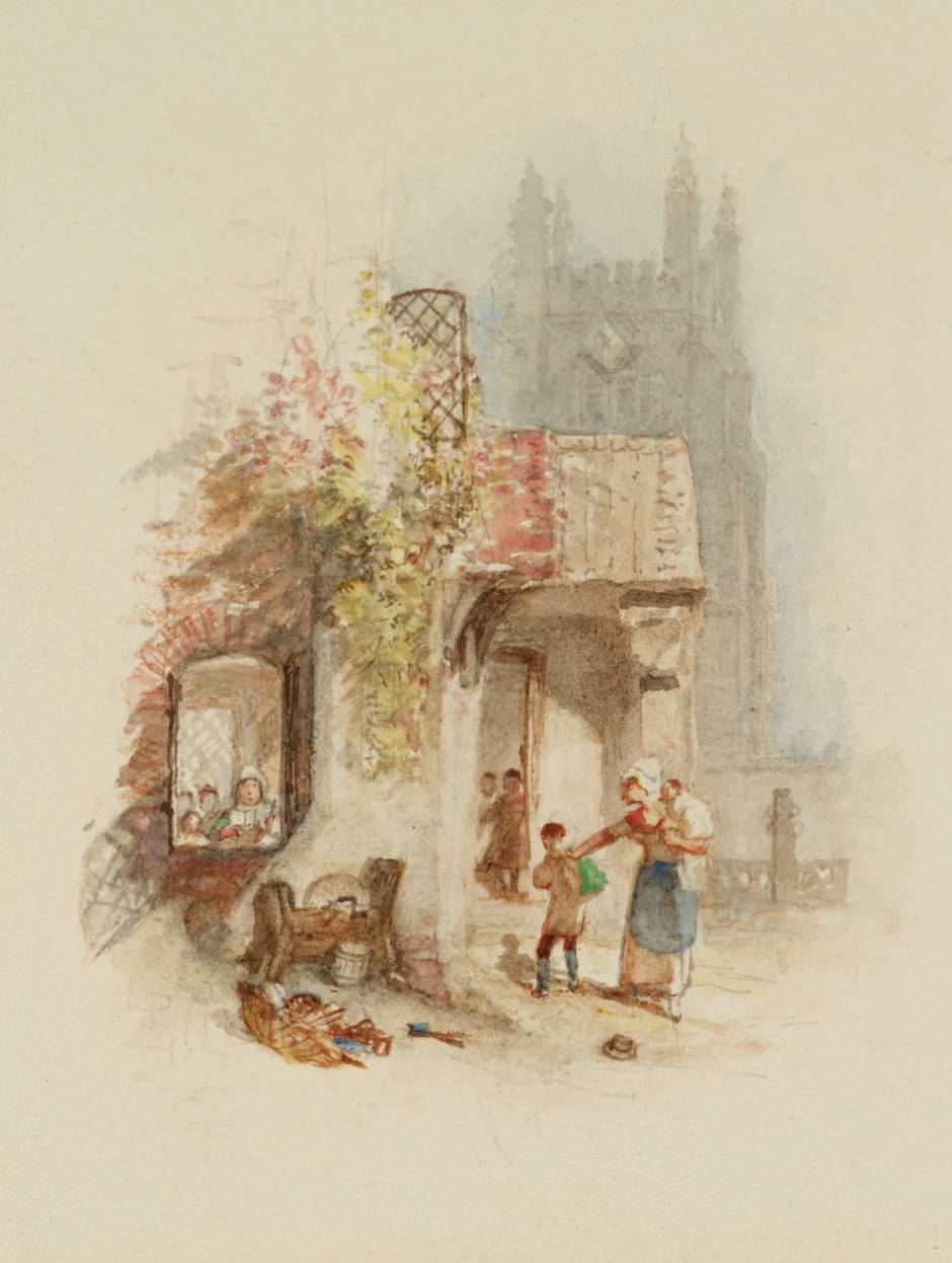 Going to School, for Rogers's 'Poems' circa 1832 by Joseph Mallord William Turner 1775-1851