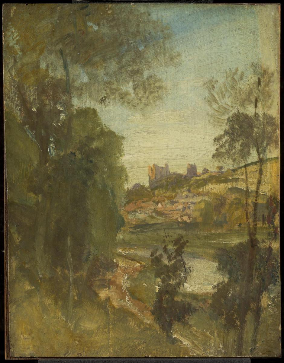 Guildford from the Banks of the Wey c.1805 by Joseph Mallord William Turner 1775-1851