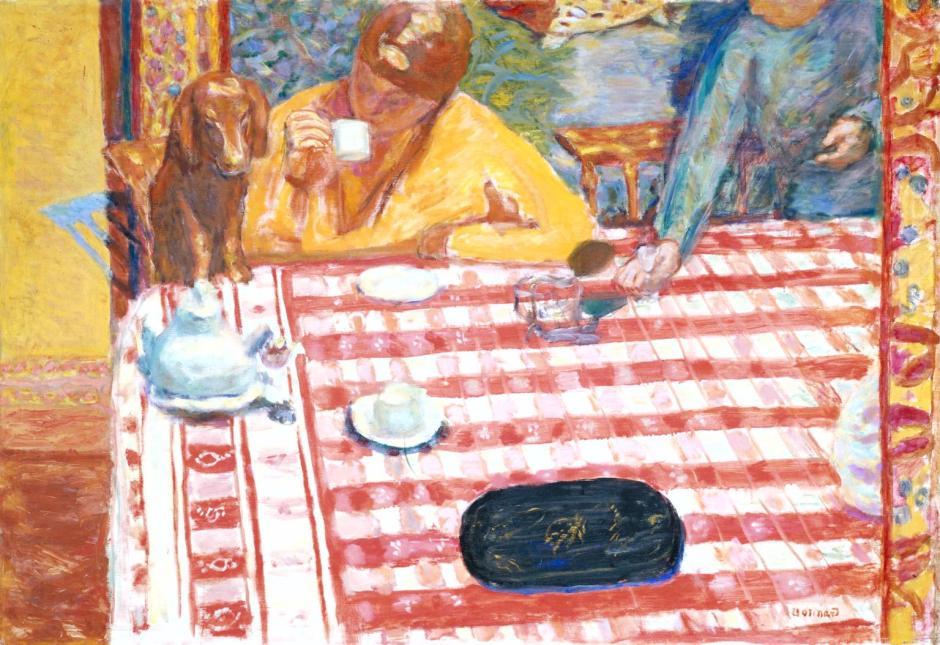 Coffee 1915 by Pierre Bonnard 1867-1947