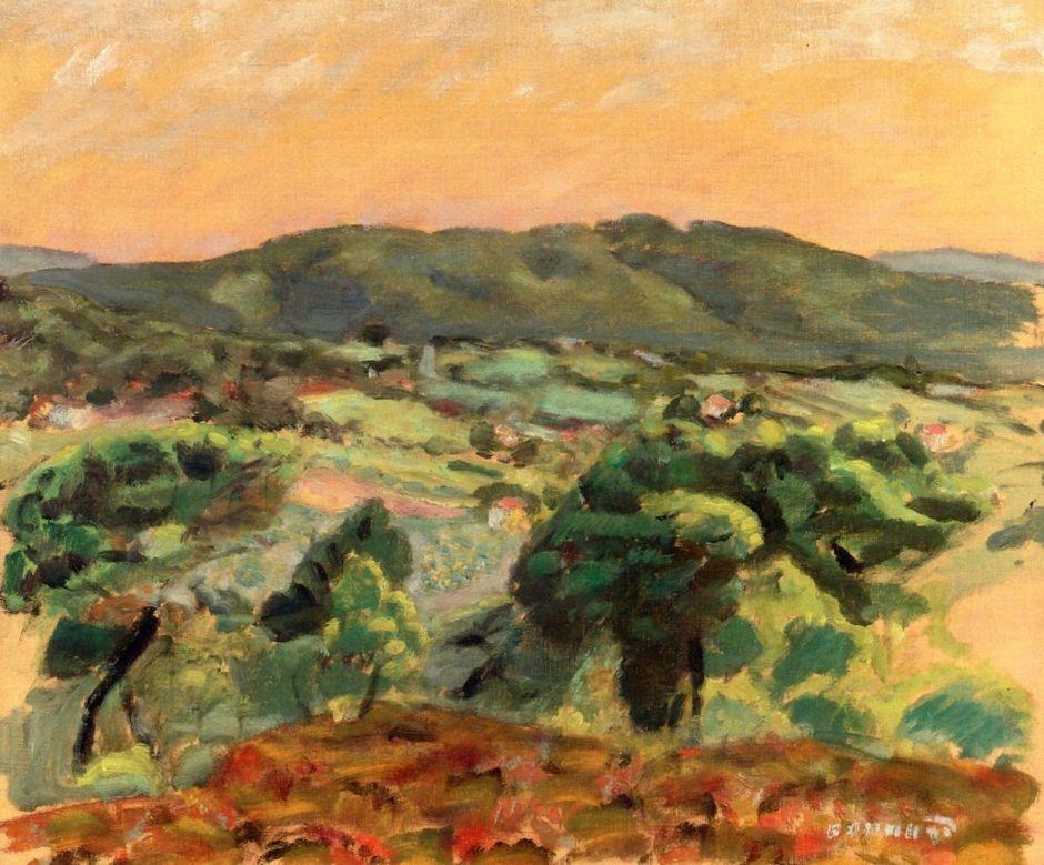 bonnardeveninglandscape1912