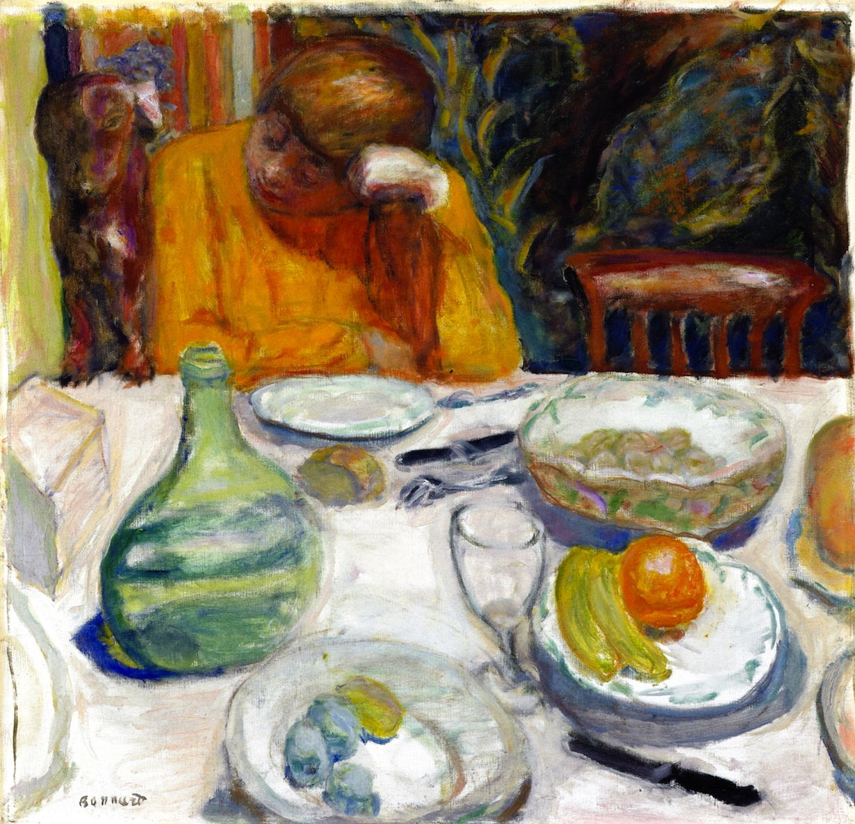 Pierre Bonnard Tea Coffee And Models 1915 1917 The