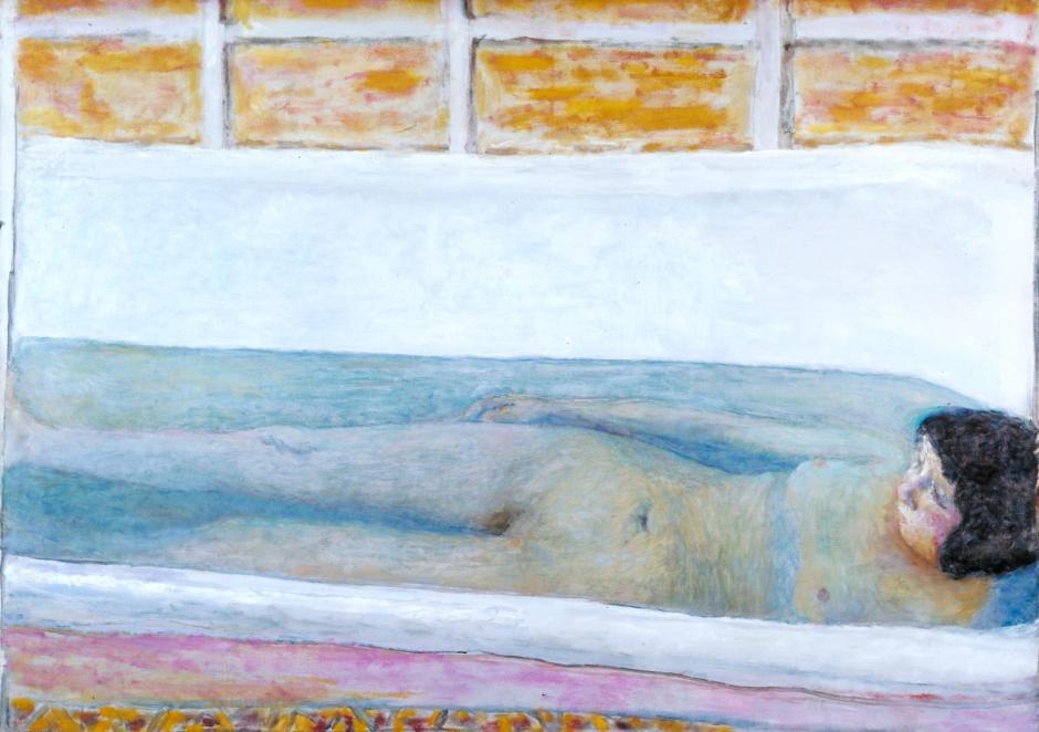The Bath 1925 by Pierre Bonnard 1867-1947