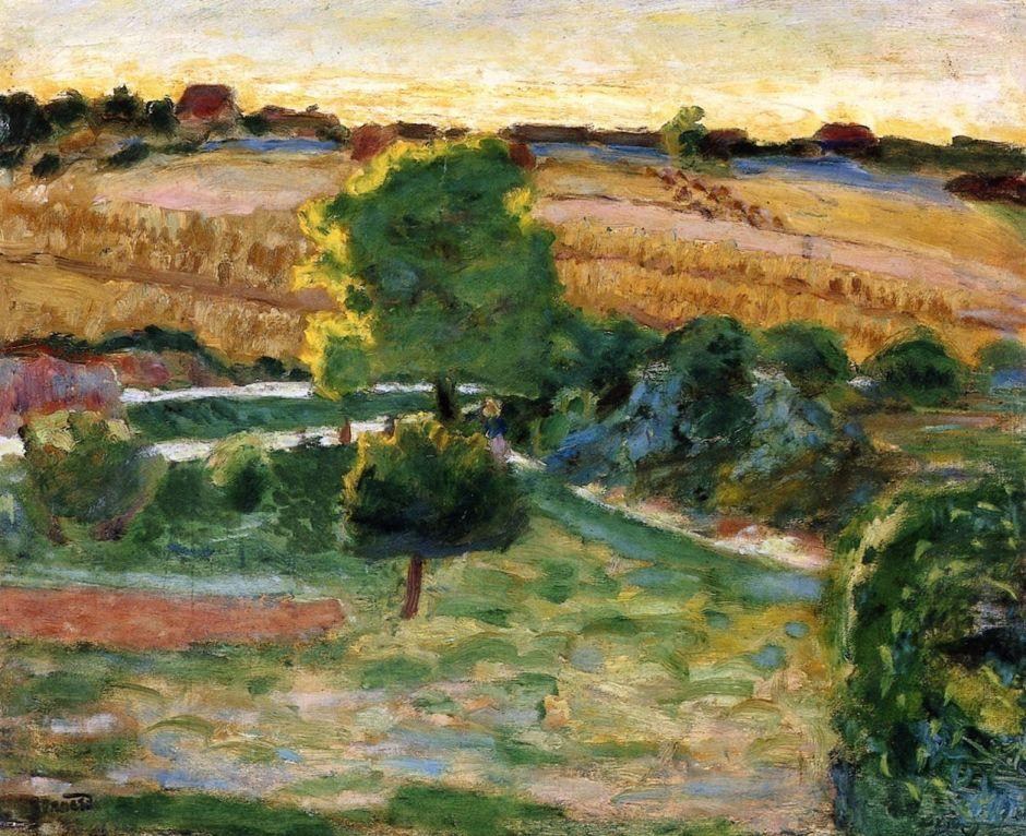 bonnardlandscapegreentrees1921
