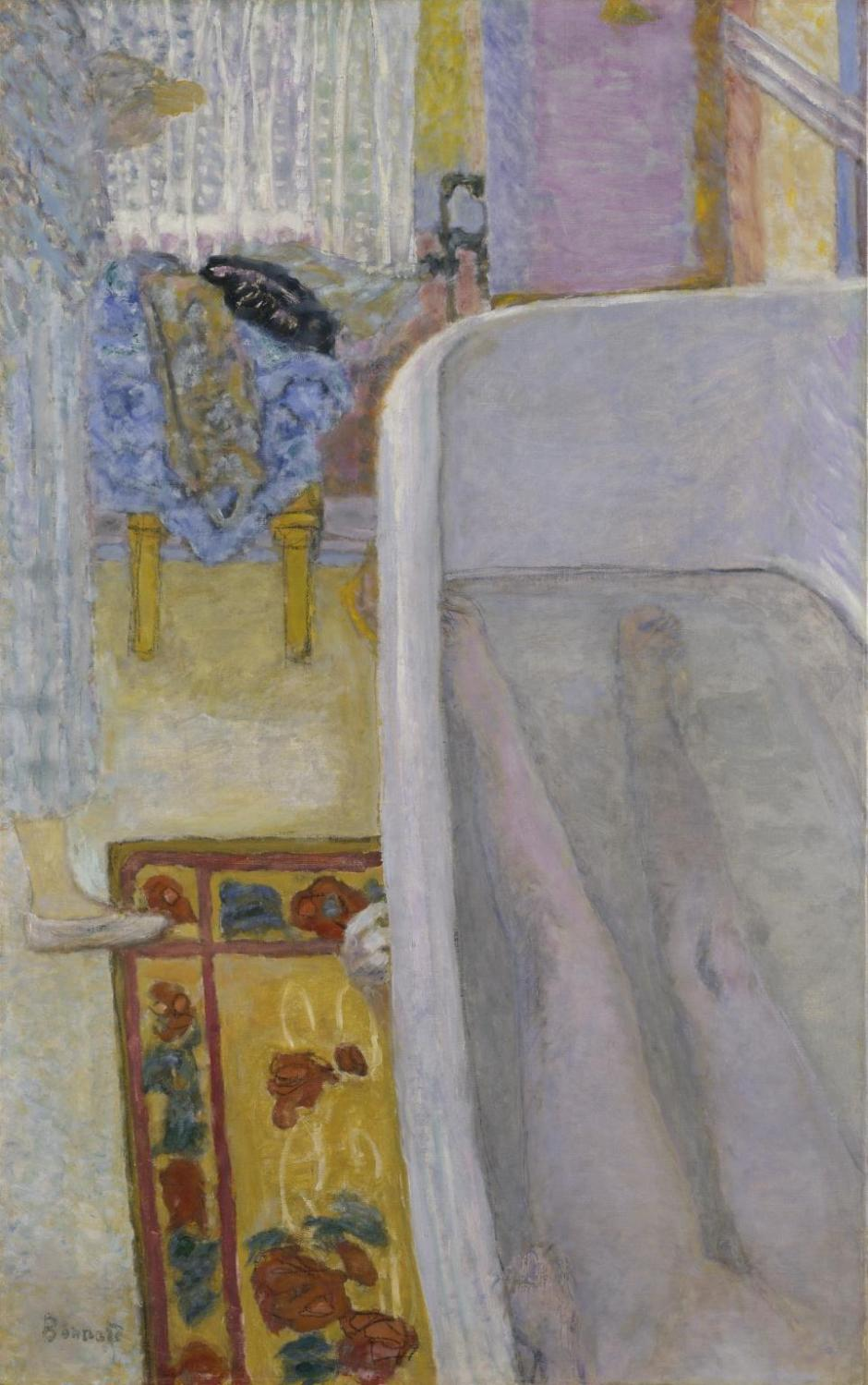 Nude in the Bath 1925 by Pierre Bonnard 1867-1947