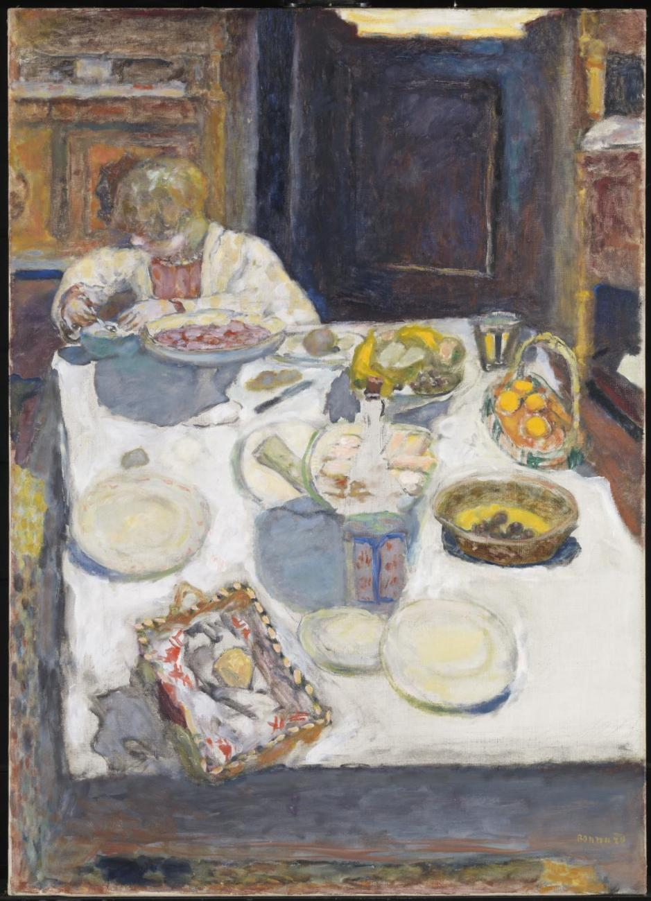 The Table 1925 by Pierre Bonnard 1867-1947