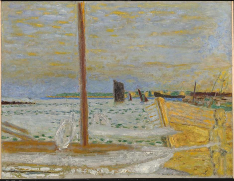 The Yellow Boat c.1936-8 by Pierre Bonnard 1867-1947