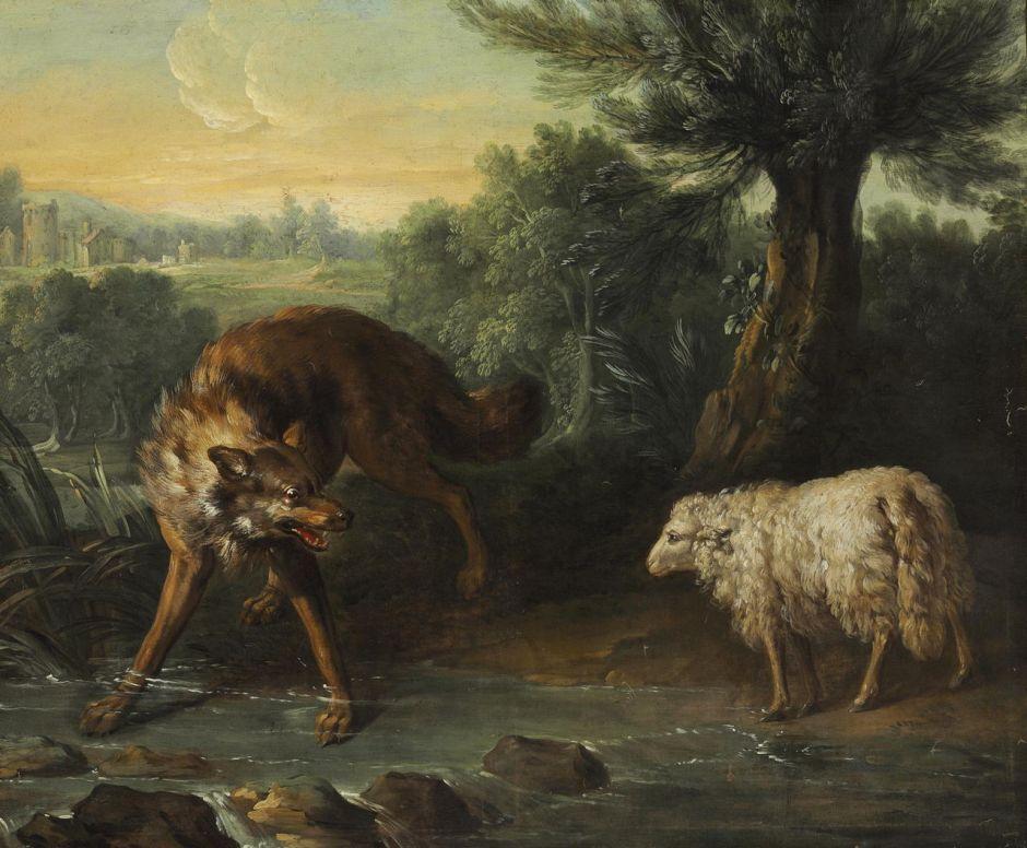 oudrywolfandlamb