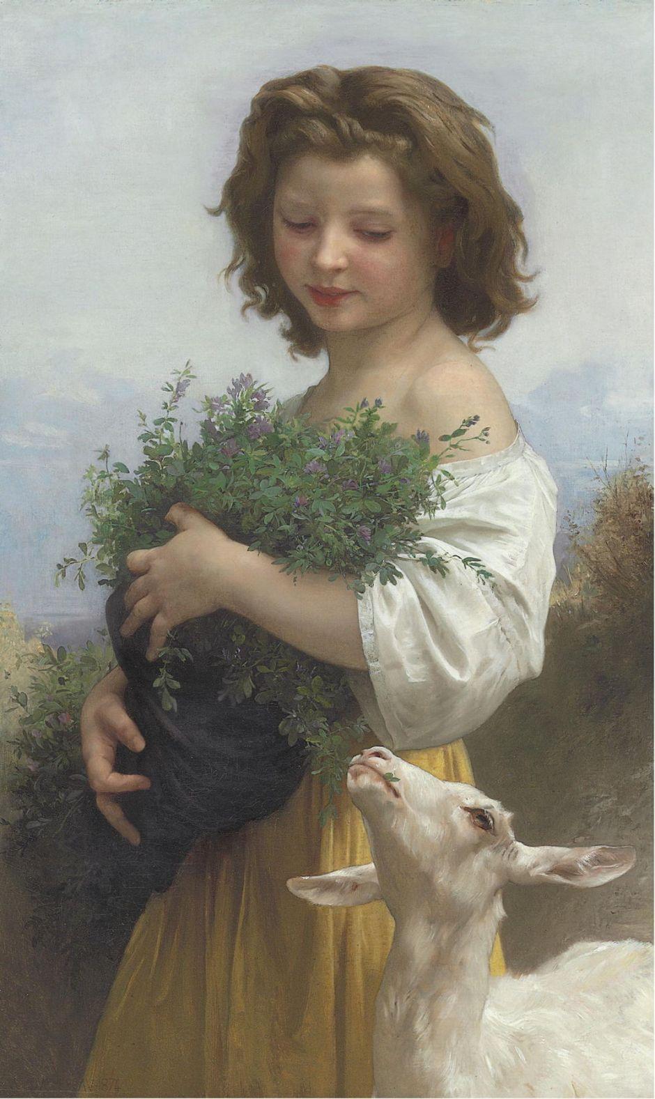 bouguereaulittleesmeralda