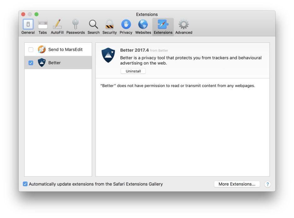 Safari 12: a good step forward, but mind the extensions