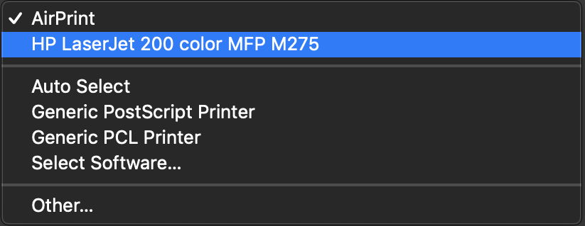 How to install a printer in macOS Mojave – The Eclectic