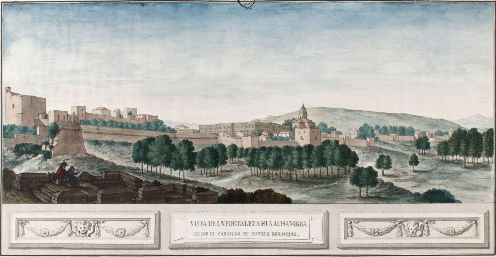 The Alhambra: 2 Landscapes 1767-1883