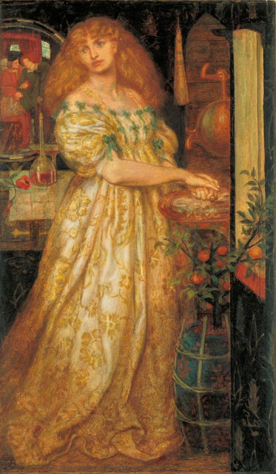 rossettilucreziaborgia1861