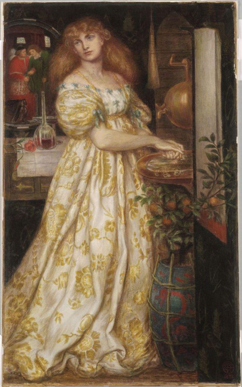 rossettilucreziaborgia1871