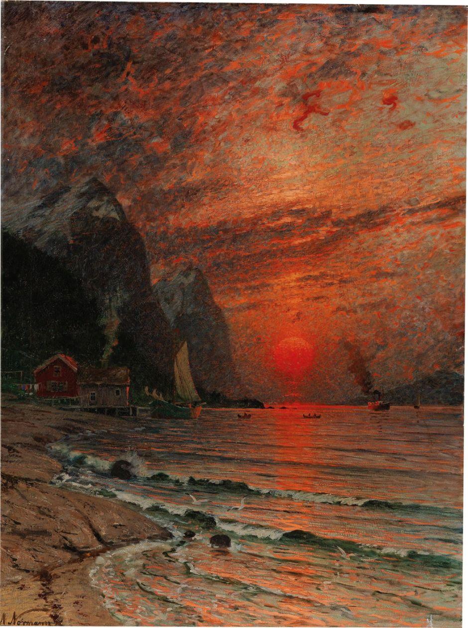normannsunsetfjord