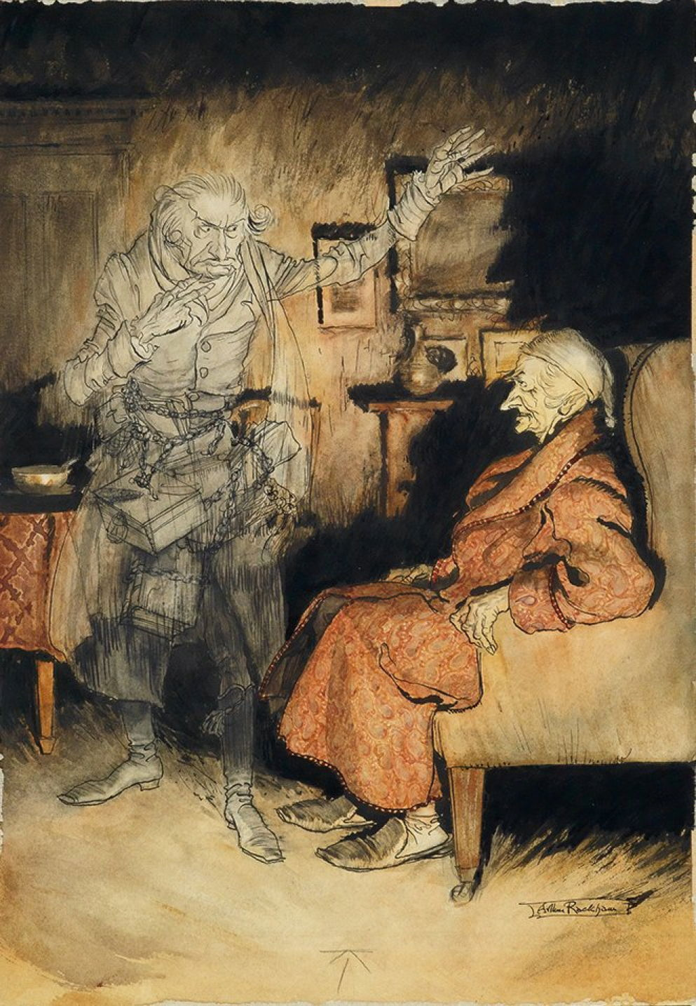 Dickens A Christmas Carol In Paintings The Eclectic Light Company