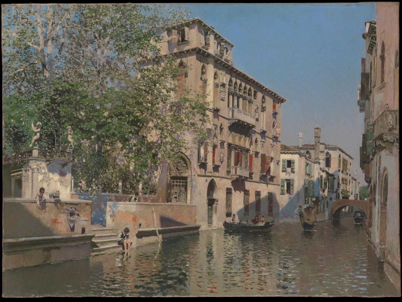 Landscapes of Martín Rico: 2 1873-1908