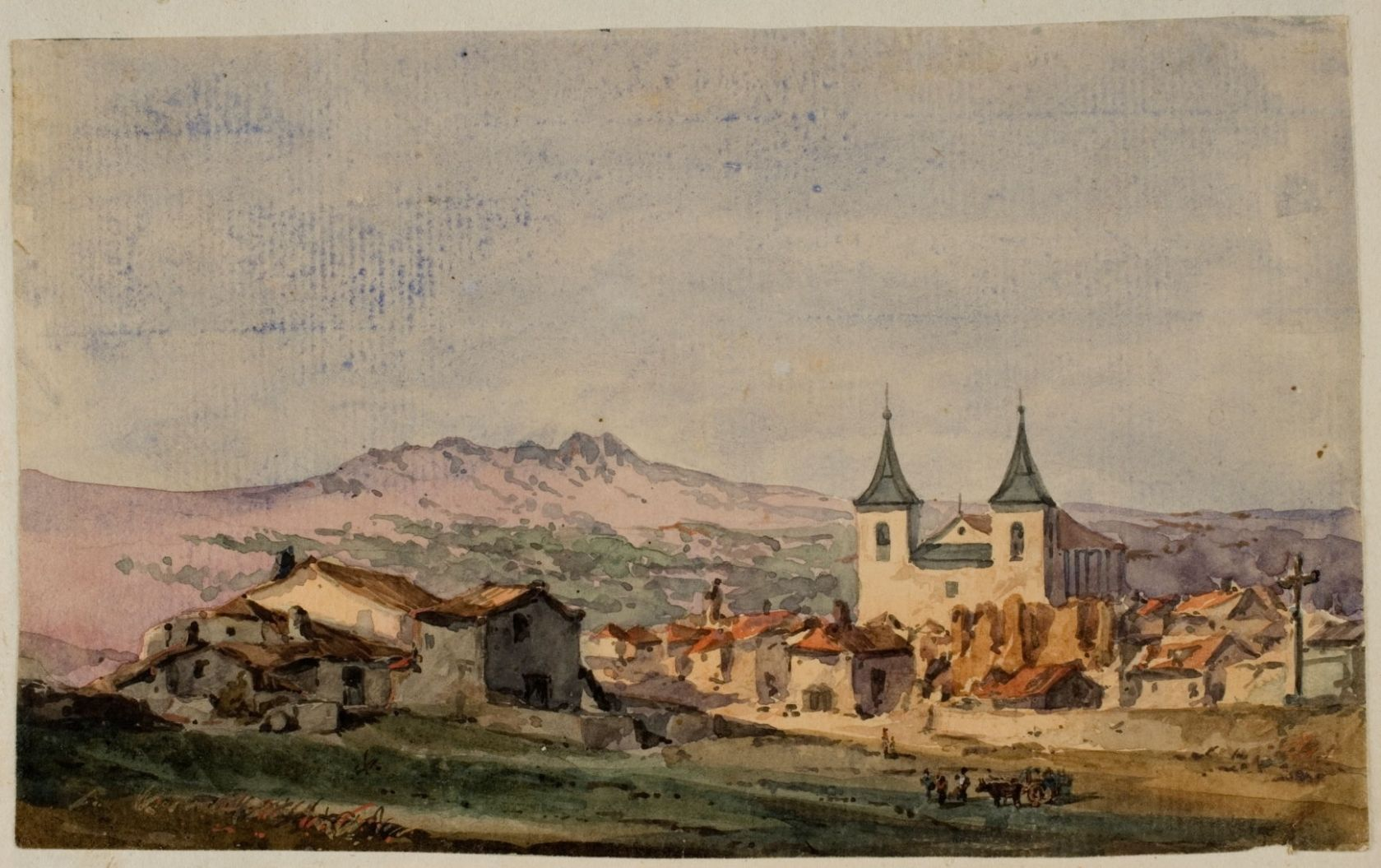 Landscapes of Martín Rico: 1 1852-1872