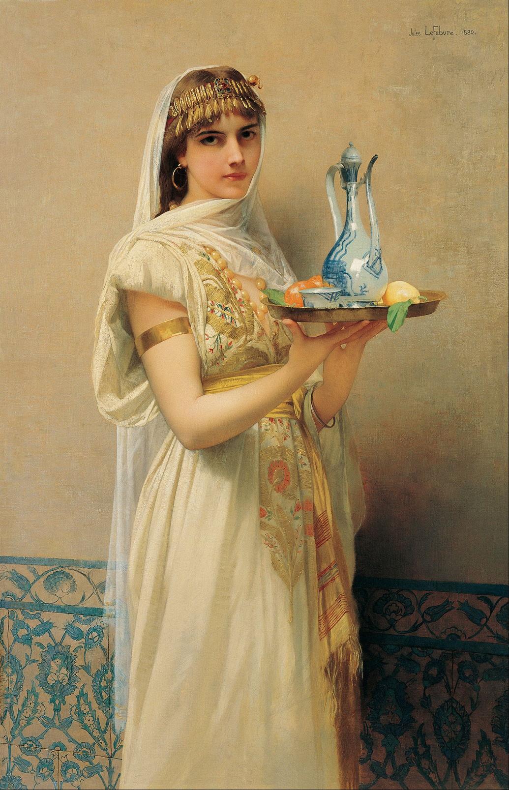 Print Jules Lefebvre French Figure Painting 11 Lady Godiva Full