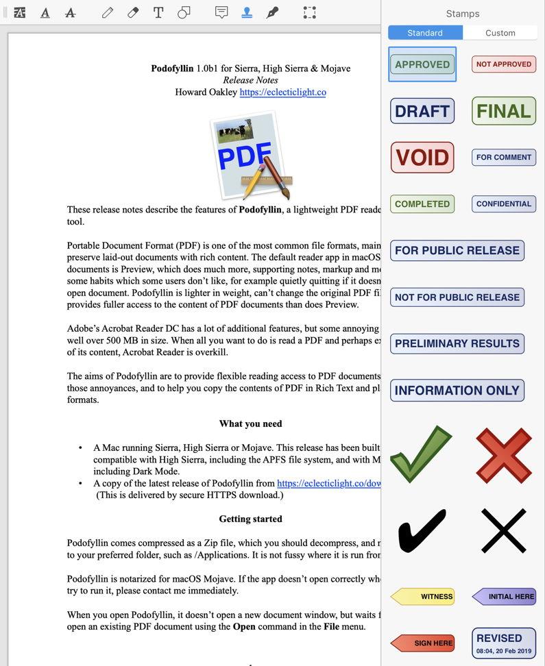 Acrobat reader adobe mac pdf