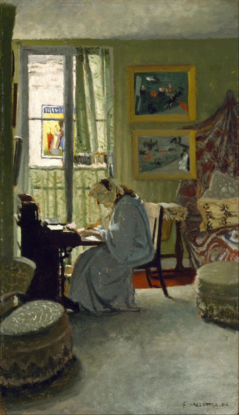 Paintings Of F 233 Lix Vallotton 2 Mysterious Interiors The