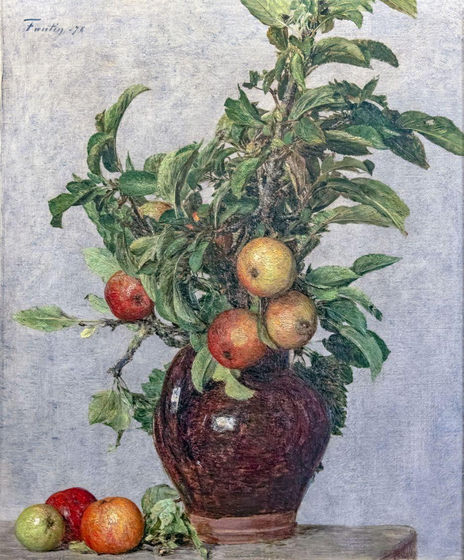 Bemberg Fondation Toulouse - Vase aux pommes et feuillage - Henri Fantin-Latour