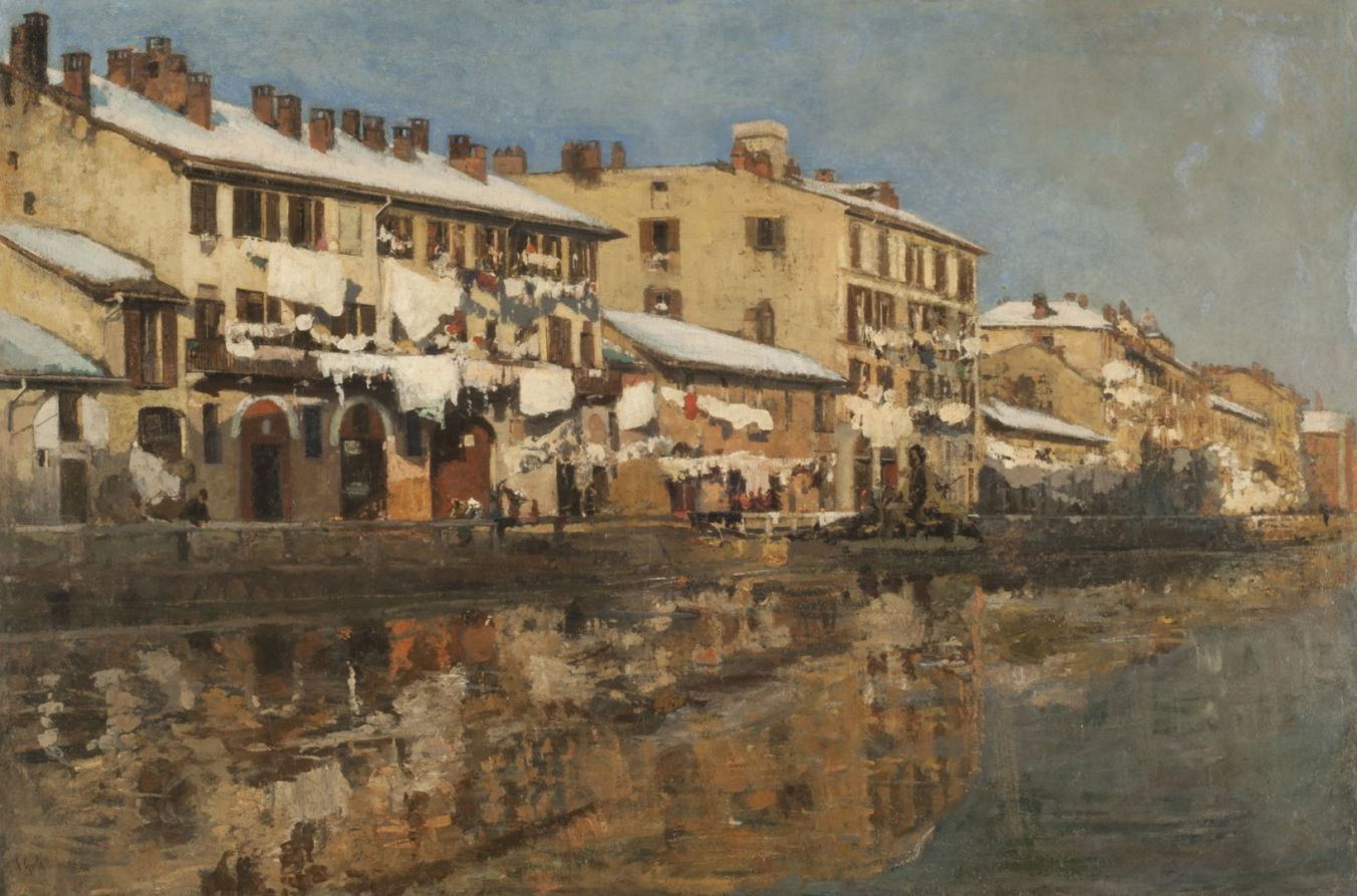 Arteries of Industry: paintings of canals 2