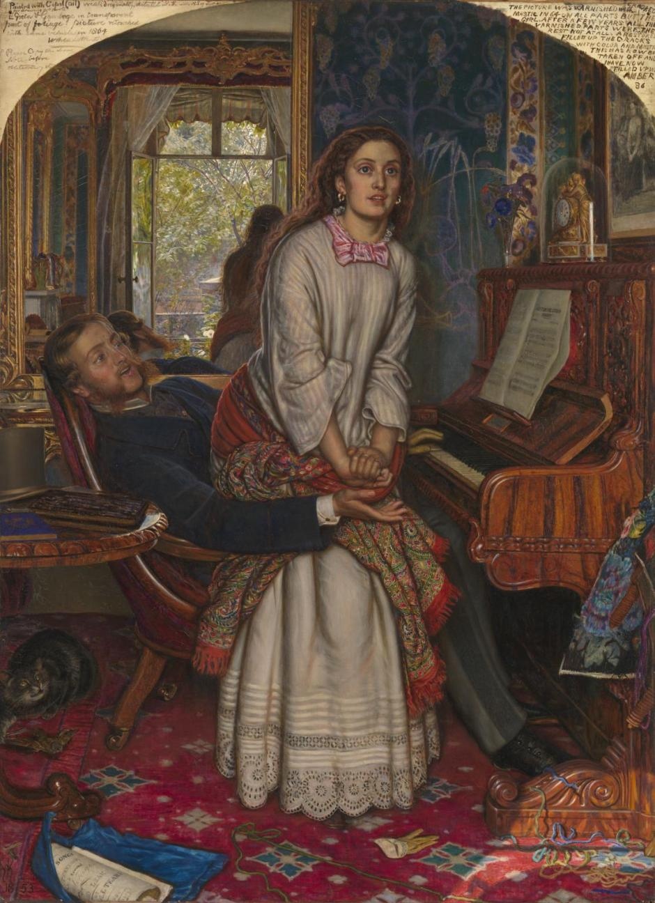 The Awakening Conscience 1853 by William Holman Hunt 1827-1910