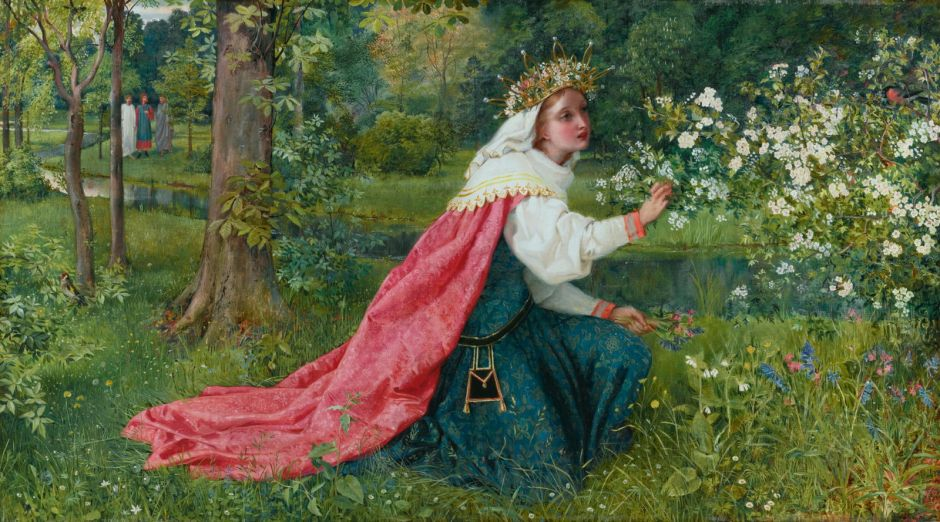 Matilda*oil on canvas*51 x 93 cm*signed b.r.: GDL / 1859