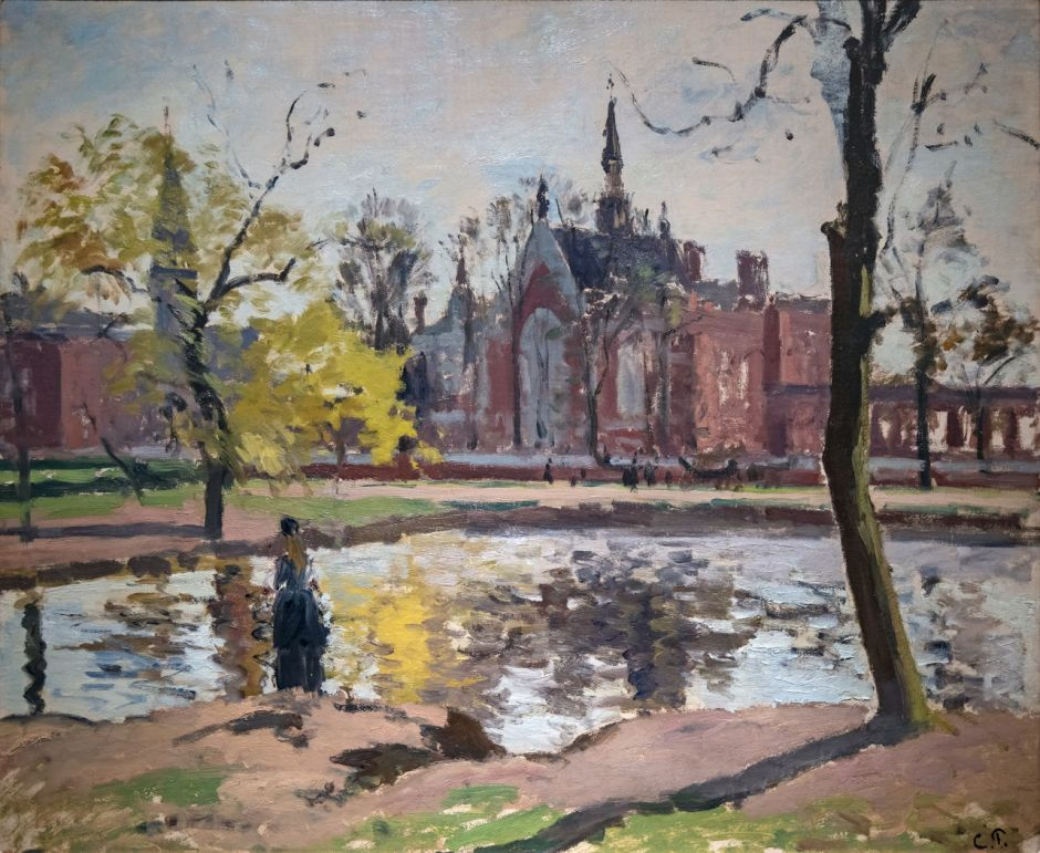 Bemberg Fondation Toulouse - Dulwich College, Londres (1871) - Camille Pissarro Inv.2149